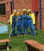 The 3rd grade minions were ready!!!!