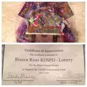 Brazos River wins 2014 Most Unusual Basket- TAPED