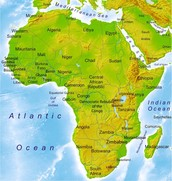 This is a map of Africa