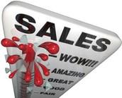 Top Sales:  NOVEMBER