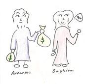 Ananias and Sappira