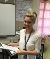 Congrats Ms. Garner!