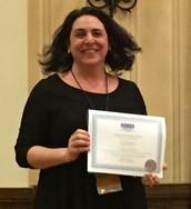 Student Paper Award Winner, Christina Barmon