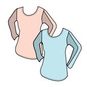 Hi Low Knit Top - Corallo/Size M - Aqua Bay/Size L