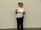 Janessa Rivera - Fourth Grade