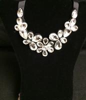 Floral Ribbon Necklace