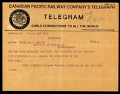 Telegram for the noble prize