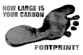 is your carbon footprint too big?