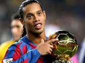 Ronaldinho won the golden ball