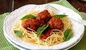 Spagethi meet balls
