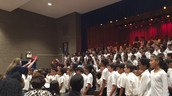 All 4 schools singing We Can Be Kind!