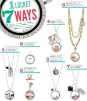 Wear one Locket Many Ways