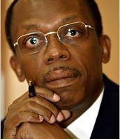 Haitian president Jean Bertrand Aristide