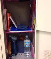Bottom of locker