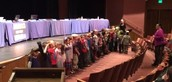 The Paul Banks Peanuts Sing During the School Board Meeting