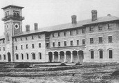 The work houses for the poor.