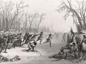 Ojibwe lacrosse