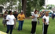 SPT ladies line dancing