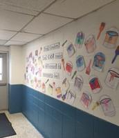 Kindergarten Kindness Wall!