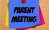 5th Grade Parent Night at CPMS