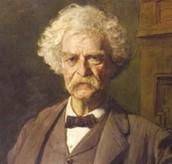 Mark Twain died on April 21, 1910