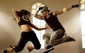 DANCING TO REGEATON MUSIC