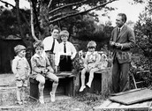 Niels Bohr and his sons