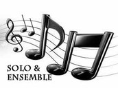 Medrano MS Band Students Tops in Solo & Ensemble