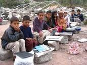 Estudiantes en Pakistan