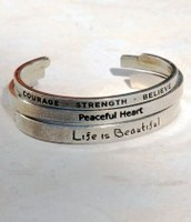 Believe Bracelets - 3 designs to choose from