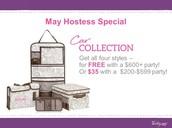 May Hostess Special