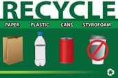 You can recycle almost anything!