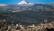 Aerial View of the Ecuador