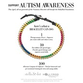 Visionary Bracelet to Support Autism Awareness