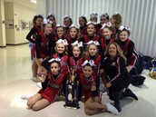 Cheer Team takes 1st!