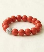 Soiree Bracelet-Coral