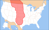 plains indians map