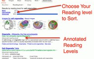 Find Articles by Reading Level