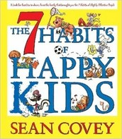 """Mrs. Burleson has the CD for 7 Habits of Happy Kids if you'd like to """"borrow"""" it."""