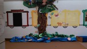3rd and 4th Grade Art Work