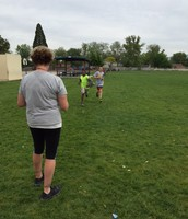 Running the Mile for PE - GRIT