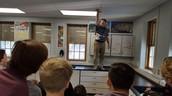 Classroom egg drop