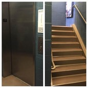 Elevator & Stairs