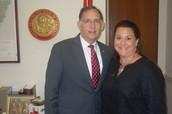 Angela Watson with Senator Boozman