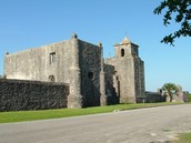 A TX Army surrendered at Goliad, but was massacred a few days later at Santa Anna's orders
