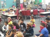 Mrs. Valentino's students are in western gear