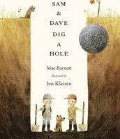 sam and dave dig a hole is a award winner