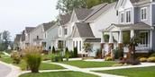 Higher income neighborhood