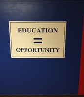 Education equals opportunity