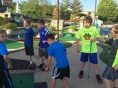 Fourth Grade Golfing